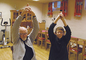 Senior mediyoga på Grünerløkka