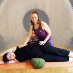 Yoga med massasje